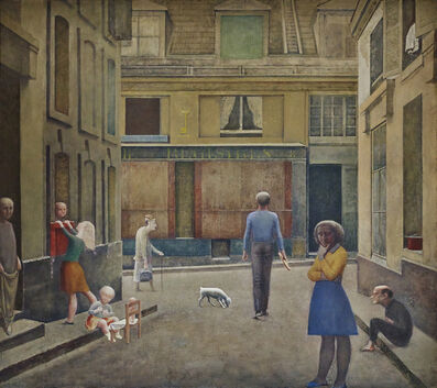 Balthus, 'Passage du Commerce-Saint-André', 1952-1954