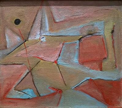 Carmen Herrera, 'Red dot', 1953