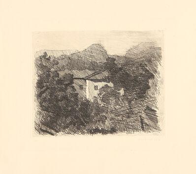 Giorgio Morandi, 'Paesaggio di Roffeno', 1936