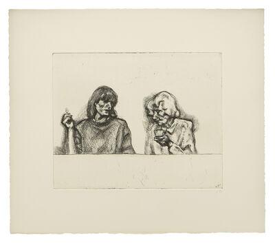 Lucian Freud, 'Conversation', 1998