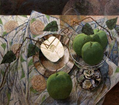 Pierre Lefebvre, 'Quatre pommes et demie', 2015