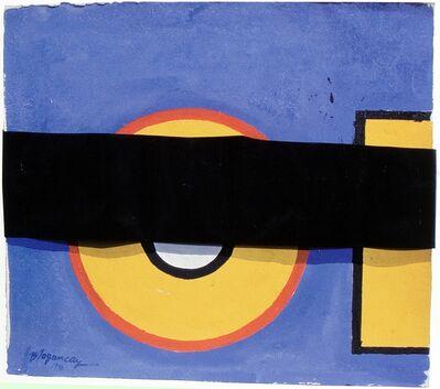 Burhan Dogançay, 'Yellow O', 1990