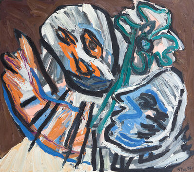 Karel Appel, 'Le dernier adieu', 1981