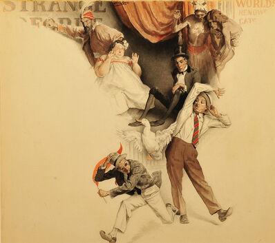 Edmund Franklin Ward, 'The Circus Freak Show', 1943