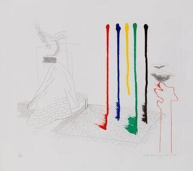 David Hockney, 'I Say They Are [Tokyo 193]', 1977