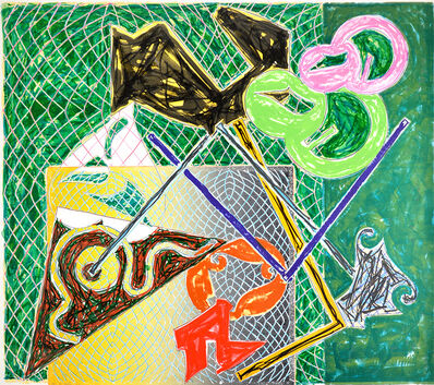 Frank Stella, 'Shards V', 1982