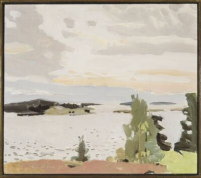Fairfield Porter, 'Morning Sky', 1972
