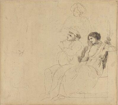 "John Hamilton Mortimer, 'Study for ""The Rustic Dancers""', ca. 1770/1774"