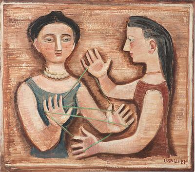 Massimo Campigli, 'Jeu de la ficelle', 1951