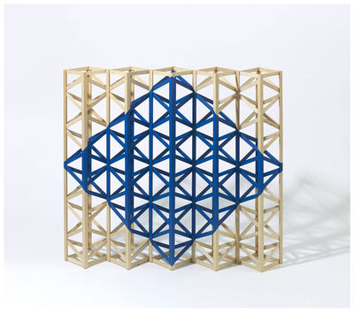 Rasheed Araeen, 'Untitled (BLUE)', 2018