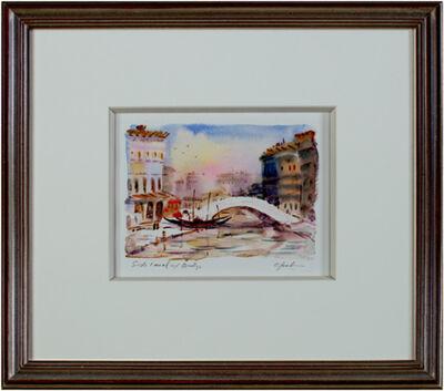 Craig Lueck, 'Side Canal with Bridge', 2005