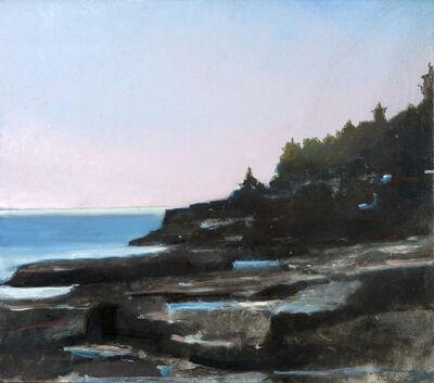Robert Pollien, 'Low Tide Near Great Head, Acadia', 2018