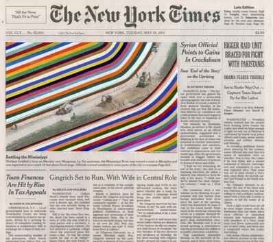 Fred Tomaselli, 'MAY 10, 2011 #2', 2012