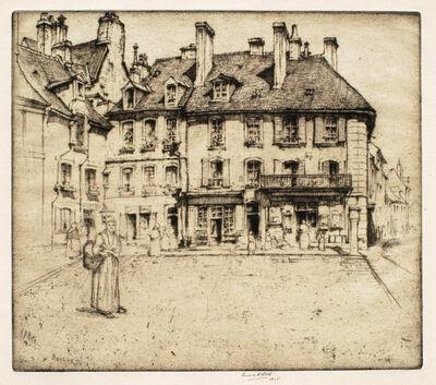 Ernest David Roth, 'A Corner in Bayeux', 1911-1915