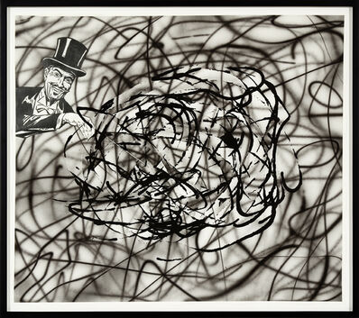 Jim Shaw, 'Untitled Scribble (Magician)', 2008