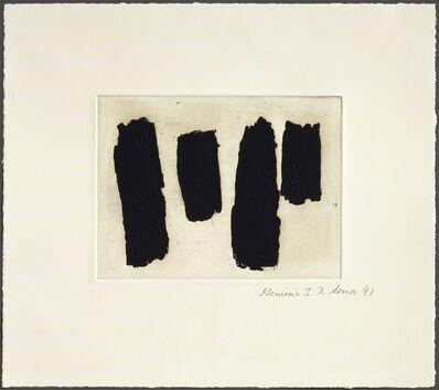 Richard Serra, 'Videy Afangar #8', 1991