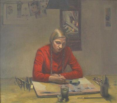 Ola Billgren, 'Måleri', 1973