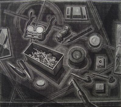 Armin Landeck, 'Engraver's Tools', 1974