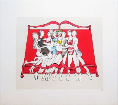 Louise Bourgeois, 'Eight in Bed', 2000