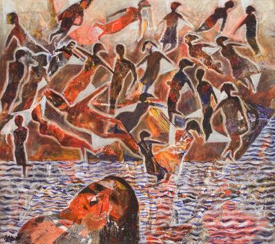 Tayseer Barakat, 'Shoreless Sea #6', 2019
