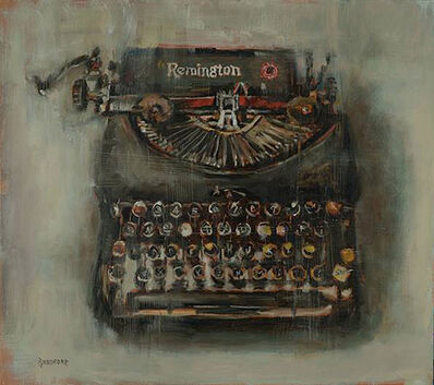 Bradford J. Salamon, 'A Remington Still Machine', 2019