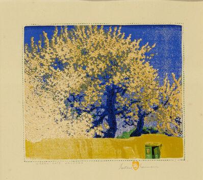 Gustave Baumann, 'Green Gate Orchard', 1923
