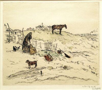 Jean François  Raffaëlli, 'Terrain Vague', ca. 1896