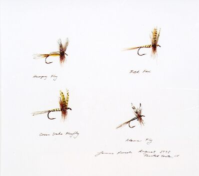 James Prosek, 'Untitled (Fishing Flies)', 1998