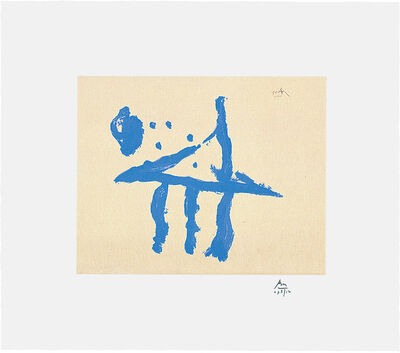 Robert Motherwell, 'Summer Trident', 1990