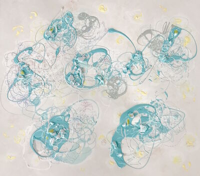 Serena Bocchino, 'Six worlds of Blue', 2017
