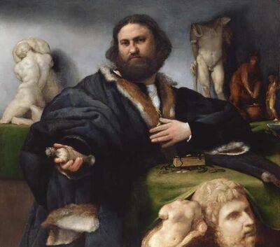 Lorenzo Lotto, 'Andrea Odone', 1527