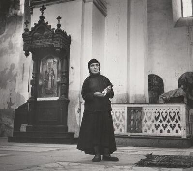 Robert Capa, 'Untitled (Russian Peasant Woman in Church)', 1947