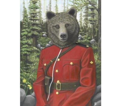 Josh Harnack, 'RCMP Grizzly ', 2017