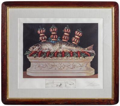 Salvador Dalí, 'Les Panaches Panaches from Les Diners de Gala', 1975