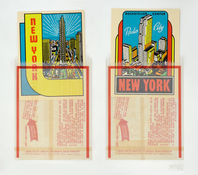 Joe Tilson, 'N.Y. Decals 3 & 4', 1967