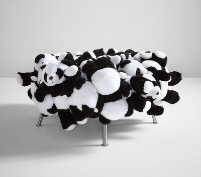 "Fernando Campana, '""Panda Puff"" stool', 2010"