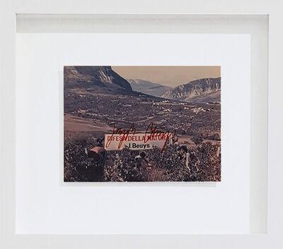 Joseph Beuys, 'Difesa della Natura', 1982
