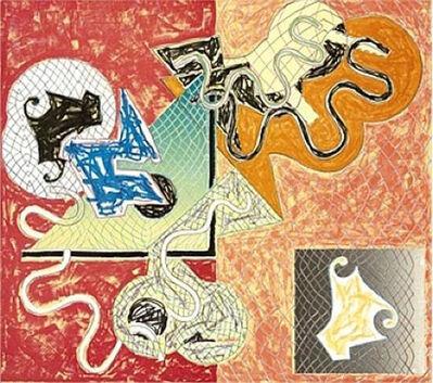 Frank Stella, 'Shards IV', 1973