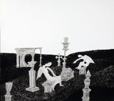 Boris Kocheishvili, 'Angels and crosses', 1998
