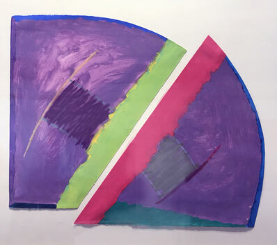 Trevor Bell, 'Purple-Green-Pink', 1970-1980