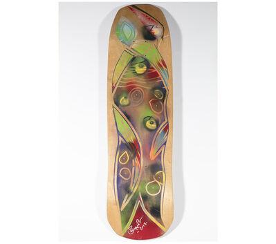 Skip Engblom, 'Skip Engblom Skateboard Deck, Eyes', 2017