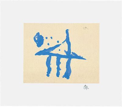Robert Motherwell, 'Summer Trident', 1990