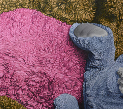 "Brent Estabrook, '""Brown.Grey.Pink""', 2017"
