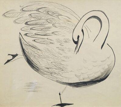 John Banting, 'Swan in Shoe & Broken Feather'