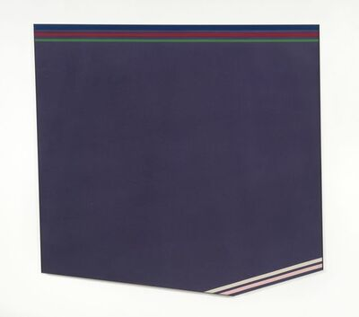 Kenneth Noland, 'Purple Gloss', 1977