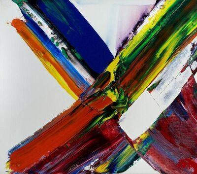 Paul Jenkins, 'Phenomena Onyx Ox Eye', 1981