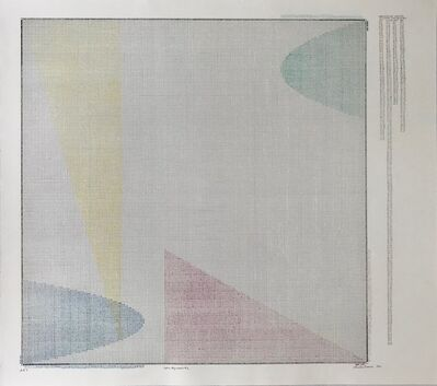 Charles Gaines, 'COLOR REGRESSION # 2  ', 1980
