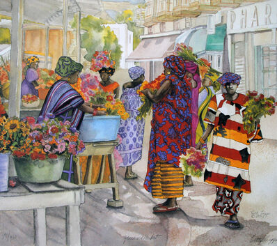 Betty Biggs, 'Flower Market ', 1991