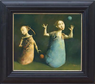 Georges Mazilu, 'Les deux ballons', 2017