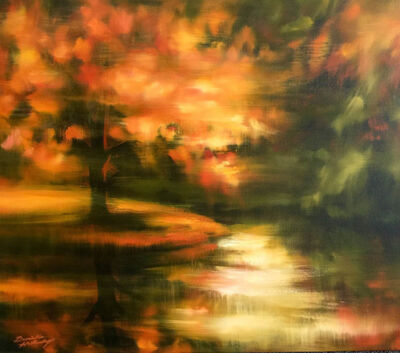 Danielle Hatherley, 'Autumn in the Adirondacks', 2019